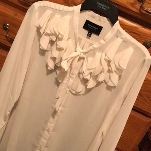 Banana Republic limited edition ivory blouse